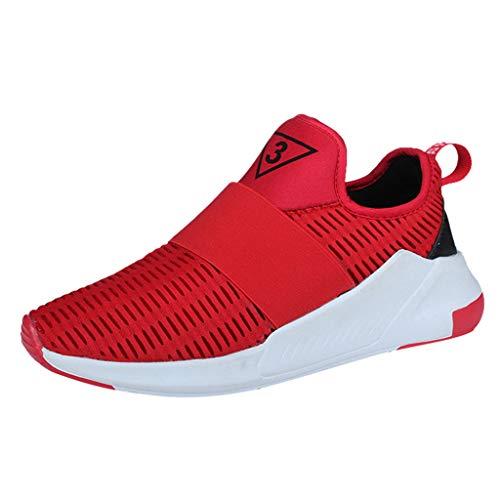 REALIKE Herren Sportschuhe Sneaker Mesh rutschfest Verschleißfest Ultraleichte Laufschuhe Freizeitschuhe Atmungsaktiv Leicht Sportlich Geeignet für drinnen und draußen Bergsteigen Lauftraining