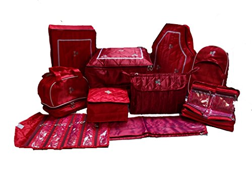 Glitter Collection Hand made Bridal Kits,Maroon