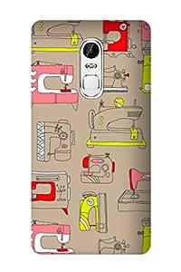 ZAPCASE Printed Back Cover for Lenovo Vibe X3
