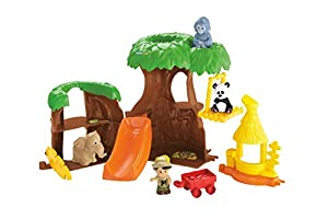 Mattel Fisher Price Y3679 - Little People Animal Treehouse
