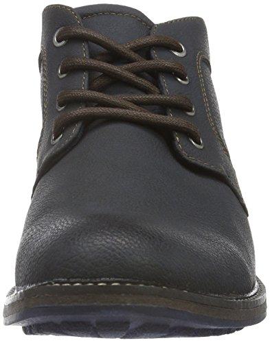 Bm Footwear 1611302, Bottines non doublées homme Bleu - Bleu marine