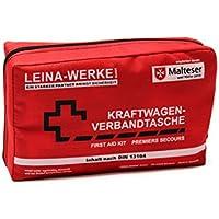 Leina 11008 Verbandtasche Compact ohne Klett, Red/Black/ White