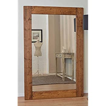 mirror 6ft x 4ft. large solid wood wall mirror 6ft x 4ft (183cm 122cm) 6ft 4ft s