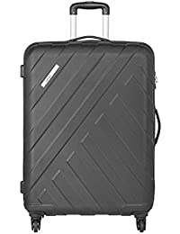 Safari Polycarbonate 56 cms Black Hardsided Carry On (HARBOUR 4W 55)