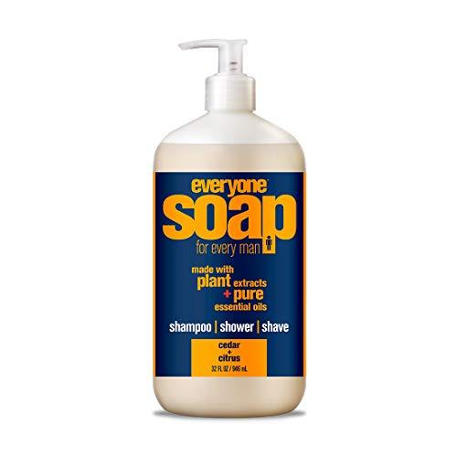 Everyone 3-in-Soap for Man, Cedar Citrus, 32 Ounce