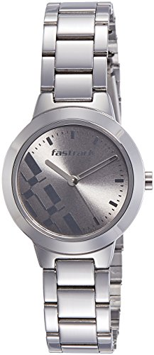 Fastrack Analog Grey Dial Girls Watches - 6150SM01