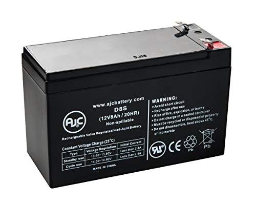 Maruson Technology Altima UPS ALT-1K (110V 115V 120V) 12V 8Ah UPS/USV Akku - Dies ist EIN AJC® Ersatz -