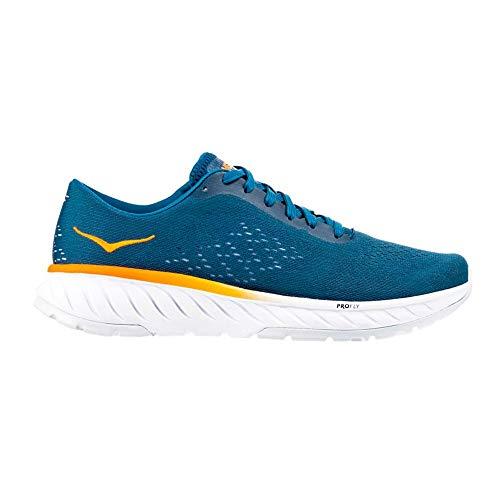 Hoka One 1099723-CBBM: Men's Cavu 2 Corsair Blue/Bright Marigold Running Sneaker (9.5 D(M) US Men)