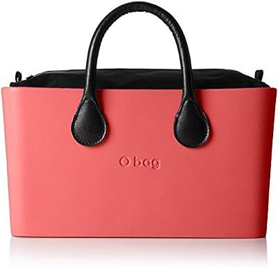 O bag - Octy12_octysi09, Bolsos de mano Mujer, Rosso (Corallo), 36x20x16 cm (W x alto largo)