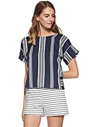 6c9d9a7bb2e25 Stalk Buy Love Women s Georgette Striped Lucille Blouse