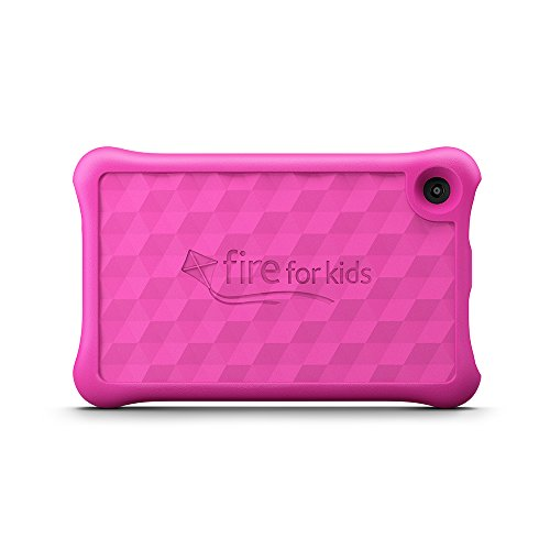"Amazon Fire for Kids Kid-Proof Case for Fire HD 8 (8"" Tablet, 7th Generation - 2017 release), Pink"