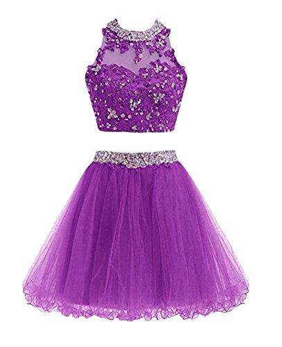Leader of the Beauty Damen Kleid Violett