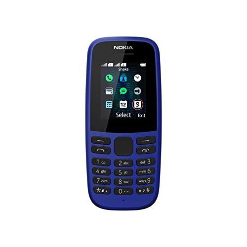 NOKIA 105 2019 (Dual SIM, Blue)