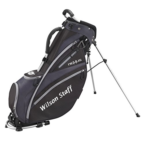 Wilson Staff Herren Golfbag W/S Nexus Carry Bag Bl, Schwarz, WGB4604BL (Nexus-golf-griffe)