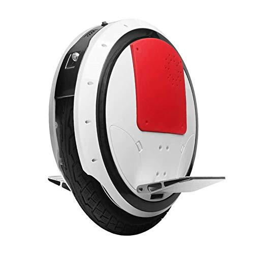 GREATY Monociclo Eléctrico, 16 Pulgadas 800W Self Balancing Unicycle con Bluetooth y App, hasta 28 km de Alcance, Electric Scooter Unisex Adulto,White