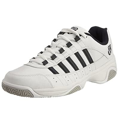 K-Swiss Mens Outshine EU M Low-Top, White (White/Navy 109), 6 UK