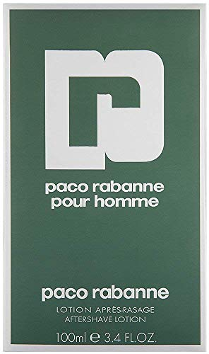 Paco Rabanne Pour Homme / men, Aftershave Lotion100 ml, 1er Pack (1 x 100 ml)