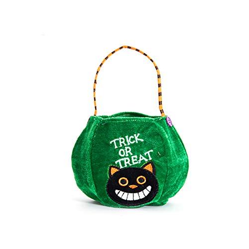 Newin Star Halloween Non-Woven Taschen Süßes oder Saures Geschenktüten Party Goodie Tragetaschen Treat Tasche mit Griffen Party Favors, Schwarze Katze