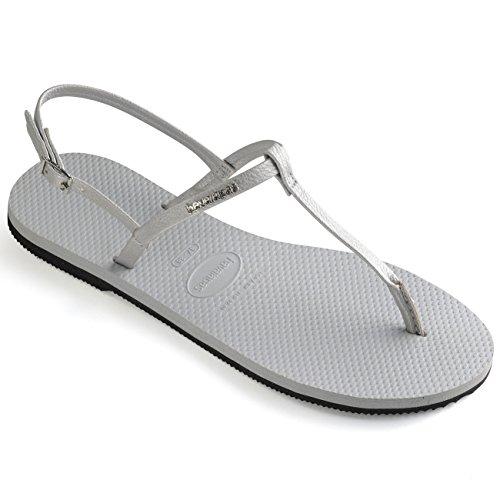 Havaianas You Riviera Sandals Damen Ice Grey Schuhgröße EU 37-38 | Brazilian 35-36 2018 Sandalen