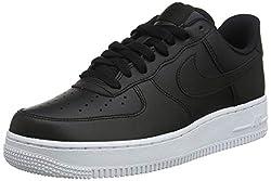 Nike Herren AIR Force 1 '07' Sneaker, Schwarz (Black Aa4083-015), 44 EU