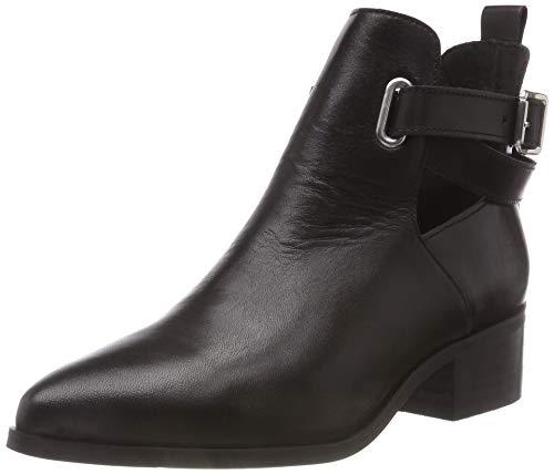 Bianco Damen Open Strap Boot Stiefeletten, Schwarz (Black 100), 40 EU