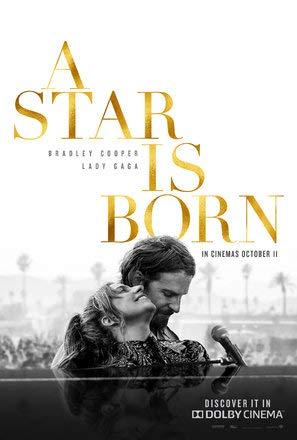 Import Posters A Star is Born - Bradley Cooper - U.S Movie Wall Print - 30CM X 43CM Lady Gaga - Lady Movie Poster