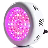 LED Grow Lampada UFO 200W 72 LEDS Spectrum LED Crescere luci idroponiche con luce UV IR per piante da appartamento Crescere e fiorire in idroponica Grow Tent
