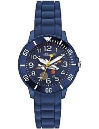 s.Oliver Jungen-Armbanduhr Analog Quarz SO-2590-PQ
