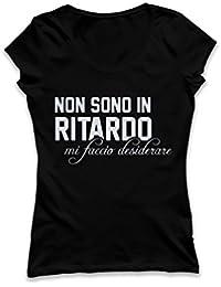 Donna Divertenti E Bluse itT ShirtTop Shirt Amazon f6vb7yYg
