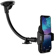 Supporto Parabrezza auto smartphone YOSH Lungo Braccio Porta Cellulare Universale, Ventosa per iPhone X 8 7 6s 6 plus, Samsung Galaxy S8 + S7,HUAWEI, ASUS,LG G5, HTC Nexus e Tablet o GPS