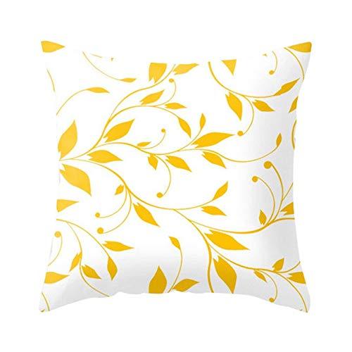 Milnut Fundas de Almohada, sofá Cama de la Serie Golden World, decoración...