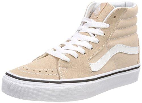 Vans Unisex-Erwachsene Sk8-Hi Hohe Sneaker, Beige (Frappe/True White Q9x), 44 EU