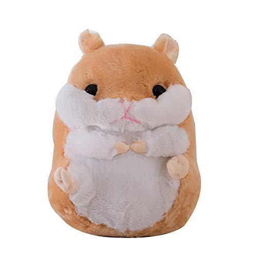 Homeofying 40/50/60 cm niedliches Hamster-Plüschtier Simulation Tier Kissen Weiches Kissen Simulation Hamster Plüsch Kuscheltier Puppe für Büro Kinderzimmer (Sonic X Plüsch-spielzeug)