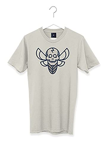 Transform Graphic Retro Tattoo Death's Head Hawksmoth Men's T Shirt (XL)