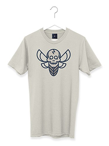 e6886b2227a6c Transform Graphic Retro Tattoo Death s Head Hawksmoth Men s T Shirt ...