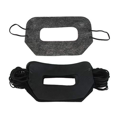 FLAMEER 50 Stück Einweg Hygiene Auge Gesicht Maske Gesicht Abdeckung für Den Virtuellen Reality-Kopfhörer - A