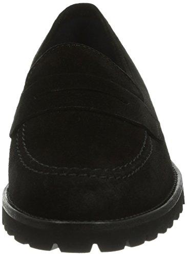 Sioux  55760, pantoufles femme Noir - Noir