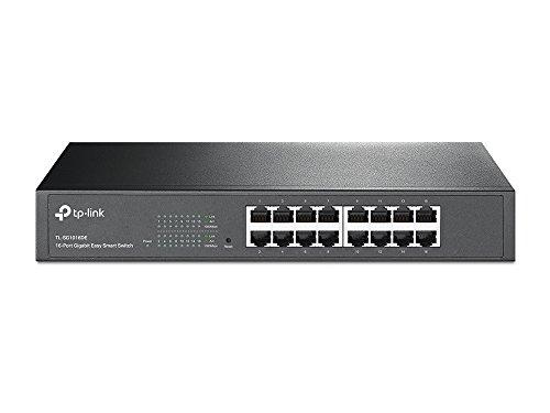 TP-LINK TL-SG1016DE - Switch Easy Smart de red (16 puertos Gigabit 10/100/1000...