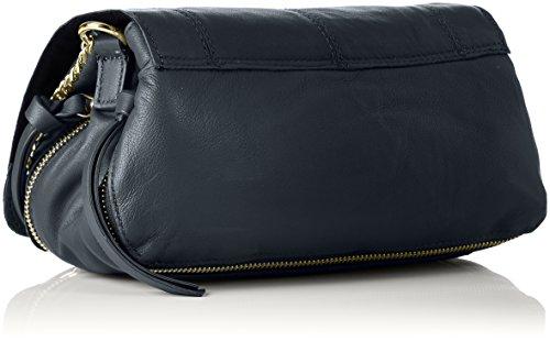 PIECES - Pcjase Leather Cross Body, Borse a tracolla Donna Nero (Black)