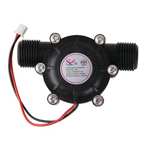 Generador De Turbina De Dc12v Micro Hidro Flujo De Alta Potencia De Carga De Agua Hidráulica