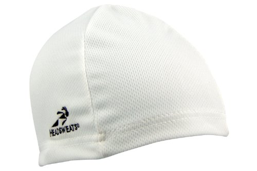 Headsweats Scullcap Beanie Laufmütze Mütze, White, One Size Coolmax-skull-cap