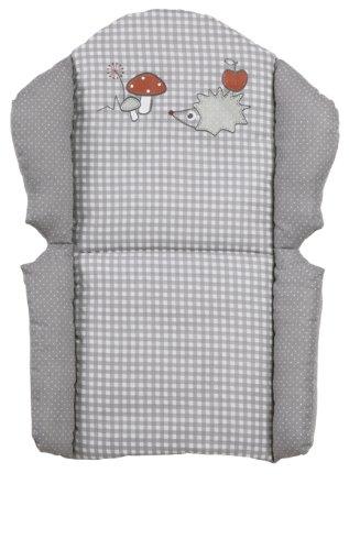roba Sitzverkleinerer, Hochstuhleinlage 'Adam & Eule', Sitzkissen für Kombihochstühle