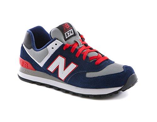 new-balance-schuhe-ml-574-herren-navy-red-white-ml574cpm-43-blau