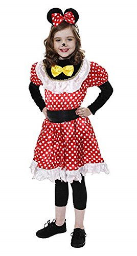 Maus-Mädchen-Kostüm Alter 7-9