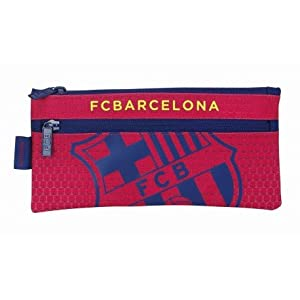 Futbol Club Barcelona – Estuche portatodo Dos Cremalleras (SAFTA 811572029)