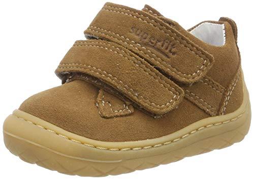 superfit Baby Jungen SATURNUS Sneaker, (Braun 30), 21 EU