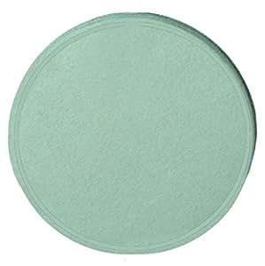 Confettis de scène en forme de ronds vert pastel 100 grammes papier de soie [09509]