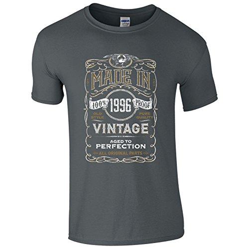 UKPrintwear Herren T-Shirt Anthrazit