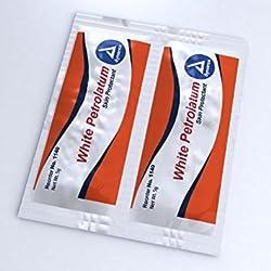 Dynarex 1140 White Petrolatum 5 gram foil packs 6/144/Case