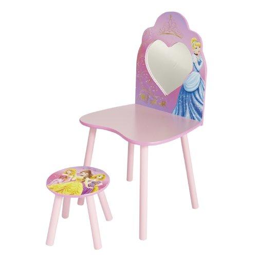 Worlds Apart 462DIR Disney Princess Schminktisch und Stuhl